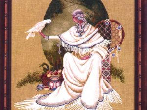 Spiritdancer Cross Stitch Pattern from Butternut Road BR 10