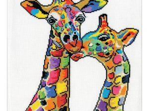 Giraffes Cross Stitch Kit by Design Works DW3258