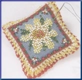 Pin Pillow Daisy Dreams Mill Hill Cross Stitch Kit MHBPP4