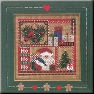 Ho Ho Sampler Mill Hill Kit MHCB226