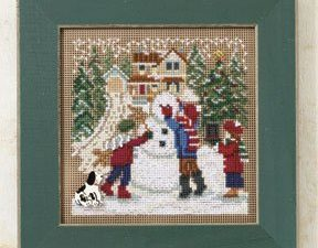 Snow Day Buttons and Beads Mill Hill Kit MH 14-9302