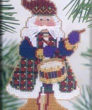 Drum Santa Ornament Mill Hill Kit MH MS11