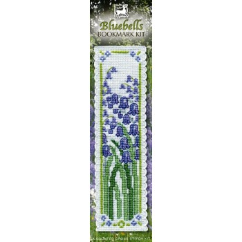 Bluebells Bookmark Cross Stitch Kit from Textile Heritage