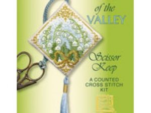 Lily of the Valley Scissor Keep Cross Stitch Kit from Textile Heritage