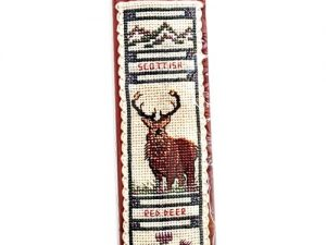 Stag Bookmark Cross Stitch Kit from Textile Heritage