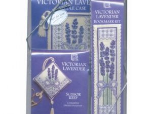 Victorian Lavender Gift Pack Cross Stitch Kit from Textile Heritage