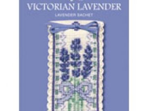 Victorian Lavender Sachet Cross Stitch Kit from Textile Heritage