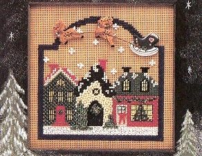 Christmas Village Buttons and Beads Mill Hill Kit MH CB78