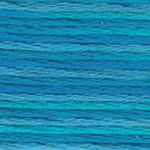 4022 Colour Variations Mediterranean Sea