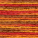 4122 Colour Variations Perle 5  Fall Harvest