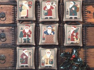 St Nicholas Cross Stitch Pattern by The Prairie Schooler Book 20