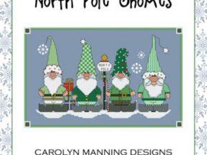 North Pole Gnomes Cross Stitch Pattern from CM Designs  19-2252