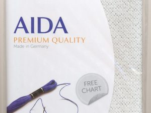 14ct Aida Star -Silver- Pack 48 cm x 53cm  3706.17