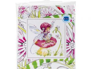 Forest Fairy Cross Stitch Kit by RTO M512