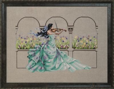 Garden Prelude Cross Stitch Pattern by Mirabilia MD 165