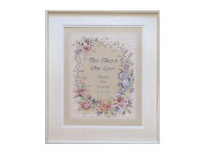 Two Hearts Dimensions Cross Stitch Kit 3122