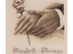 Wedding  Rings Cross Stitch Kit by Vervaco V0179745