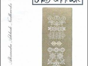White Band Sampler Cross Stitch Pattern by Alessandra Adelaide Needleworks