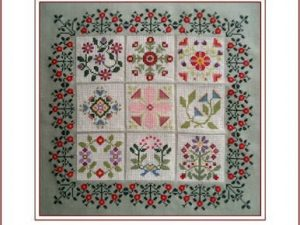 Baltimore Album Cross Stitch Pattern by Carolyn Manning