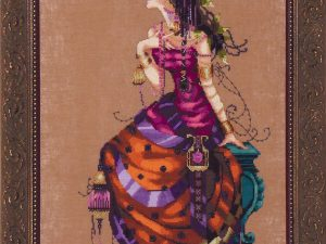 Gypsy Queen Cross Stitch Pattern by Mirabilia MD142