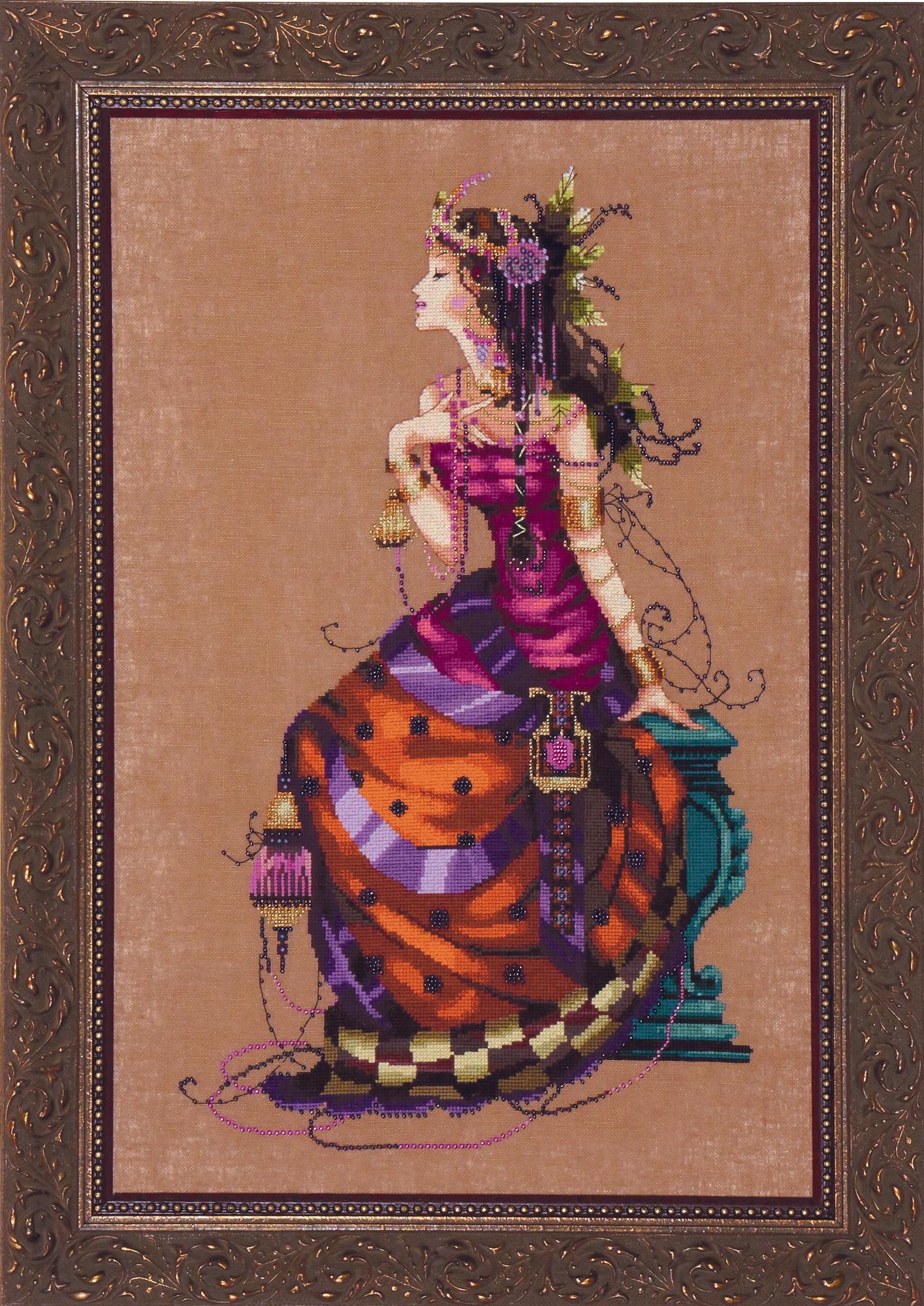 Gypsy Queen Cross Stitch Pattern by Mirabilia MD142
