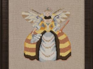 Miss Queen Bee Cross Stitch Pattern by Nora Corbett NC261