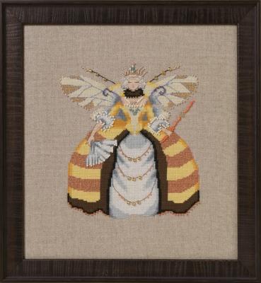 Miss Queen Bee Cross Stitch Pattern by Nora Corbett NC261