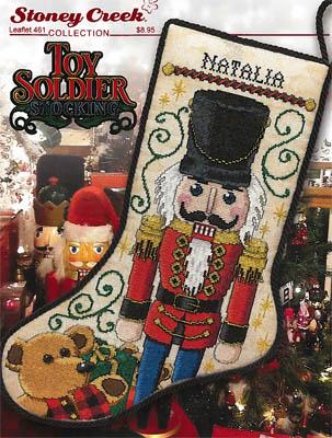 Toy Soldier Cross Stitch Pattern by Stoney Creek Leaflet 461