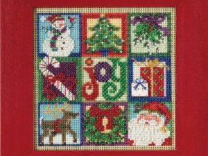 Joy of Christmas Mill Hill Cross Stitch Kit MH14-5301