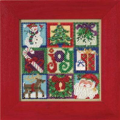 Joy of Christmas Mill Hill Cross Stitch Kit MH14-5301