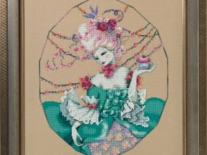 The Baker's Wife Cross Stitch Pattern by Mirabilia MD 166