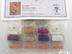 The Baker's Wife Embellishment Pack by Mirabilia MD 166E