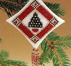 Petite Pine Tiny Treasured Diamond Mill Hill Cross Stitch Kit MHTD7
