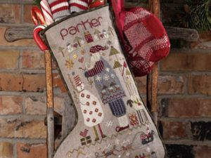 Parker Christmas Stocking Pattern