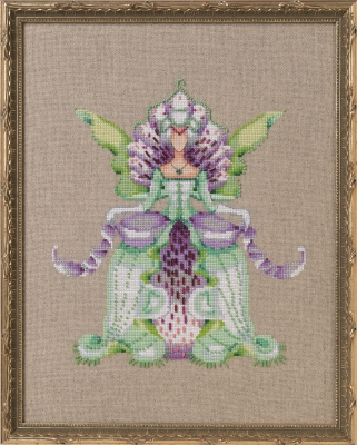 Imperial lady D Cross Stitch Pattern by Nora Corbett NC269
